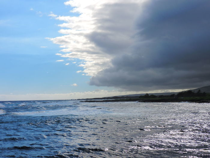 Beauty In Nature Cloud - Sky Day Horizon Over Water Nature No People Outdoors Scenics Sea Sky Tranquil Scene Tranquility Water Wave