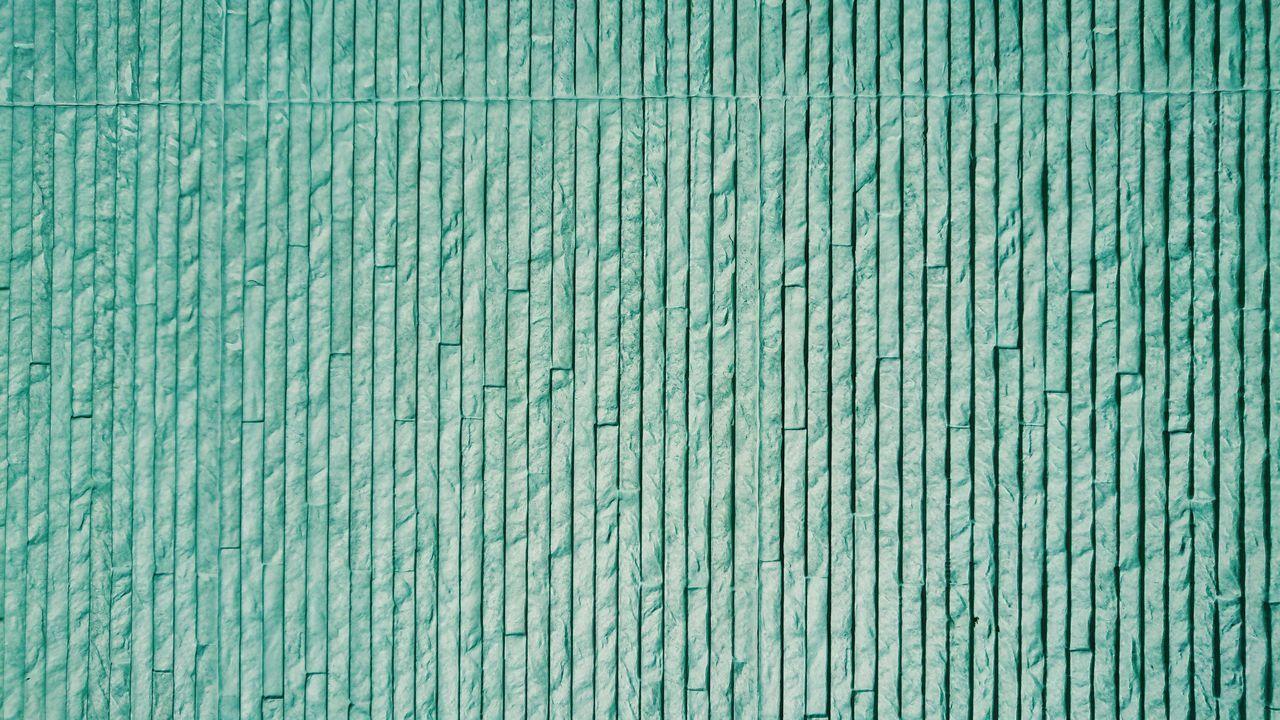FULL FRAME SHOT OF OLD BLUE WALL