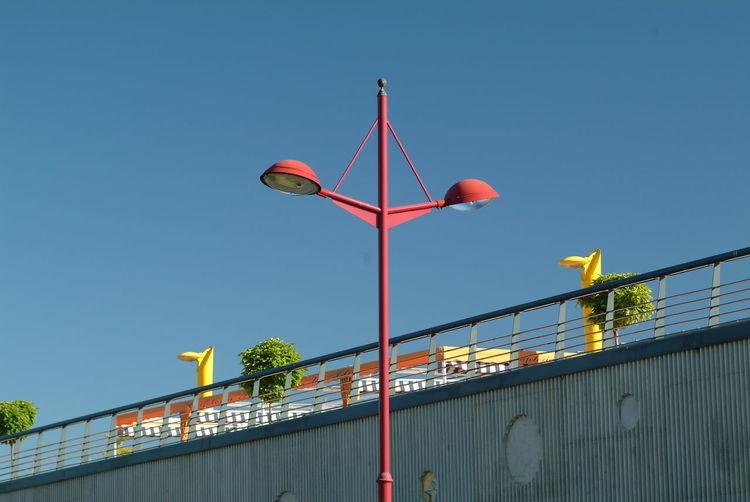 Art Colors Concrete Wall Handrail  Handrail Metal Leon Spain Lights Sky Street Lights