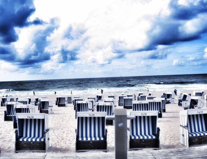 Beachphotography Beach View Sand Relaxing Outside Sylt Sylt, Germany Ocean Moments Horizon Over Water Water Sky Cloud Nature Photography Eyemphotography Outside Photography Landscape_photography Landscape Walk Nature Summertime