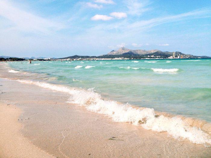 Summer Ocean Landscape Beach