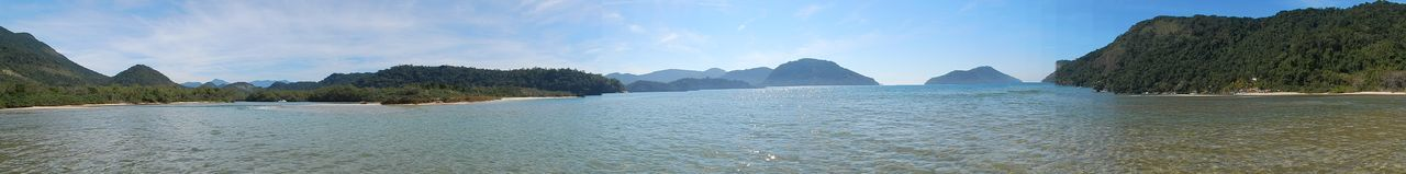 Beauty In Nature Nature Panoramic Panoramic Photography Sea Tourism Travel Destinations Water Nofilter Paraty Paraty - RJ
