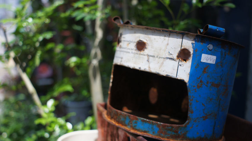 Rusty Day Takumar 28mm F3.5 Nex5 City Life City