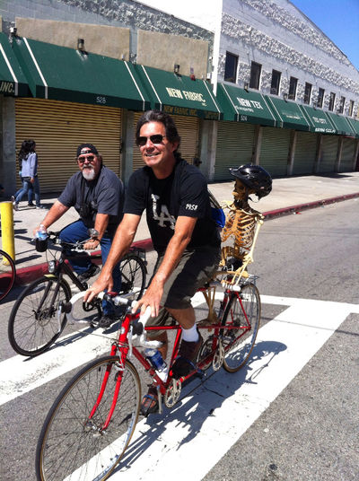 Cycling Bicycle Trip CicLAVia Riding With Friends