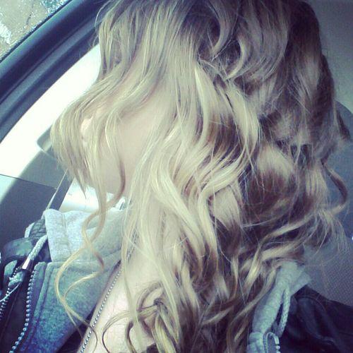 my curls ♥