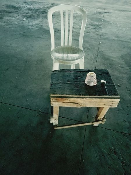 Chair Cup Of Coffee Hermosillo Cup Of Tea Cups Spoon Table Whitechairphotography Parking Lot Lines Grey Color Alone Parking Space Downtown Guard Duty No People PinkCup Woodtable Wooden