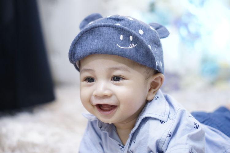 a cute baby boy