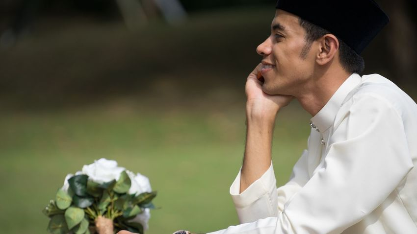 One Person Outdoors Men Close-up People Muslim Malay Wedding Wedding Photography Melayu