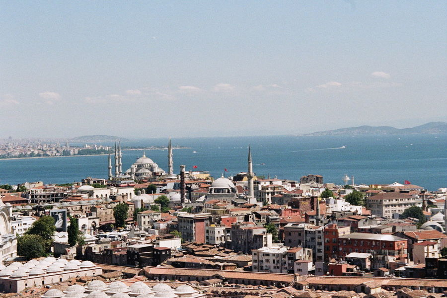 Aerial View Architecture Building Exterior Community Composition Culture Great Views Islam Islamic Islamic Architecture Perspective Residential District Turkey Türkiye View
