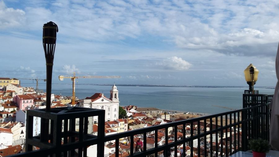Portugal Lisbon Missed This Amazing View Blue Sea Hanging Out Enjoying Life Relaxing Check This Out Taking Photos