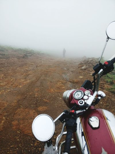 Within the fog Outdoors Motorcycle Royalenfield Classic Classic500 Classicchrome Fog Rural Scene Landscape Nature Closetoheaven Mountain Mountains Foggy Weather Foggy Day Adventure Adventures Adventures Beyond The Ultraworld Mountain Top Lonely Planet EyeEmNewHere Relationshipgoals Tranquility Blissful Moments Daring Girl
