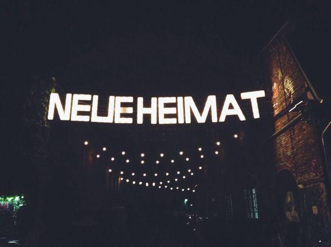 "21h - ""First We Take Berlin"" day 1 : arrived at neue heimat Firstwetakethestreets Neue Heimat"