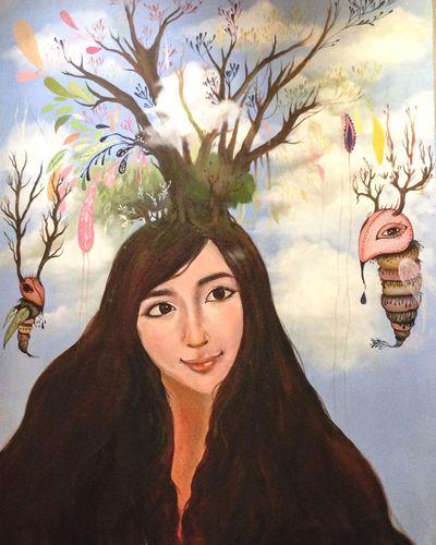 Coffee Shop Coffee Art Art, Drawing, Creativity In My Mouf Relaxing Enjoying Life Colorful OpenEdit