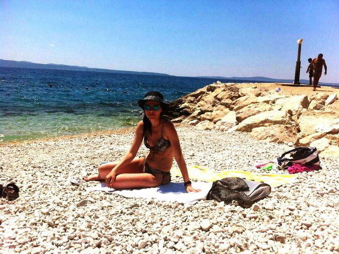 Girl Girl Power Girl On The Beach Beach Wether Wave Sky Sea And Sky Sea Waves And Rocks Waves, Ocean, Nature Sun Woman