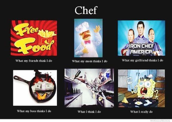 I am chef :3