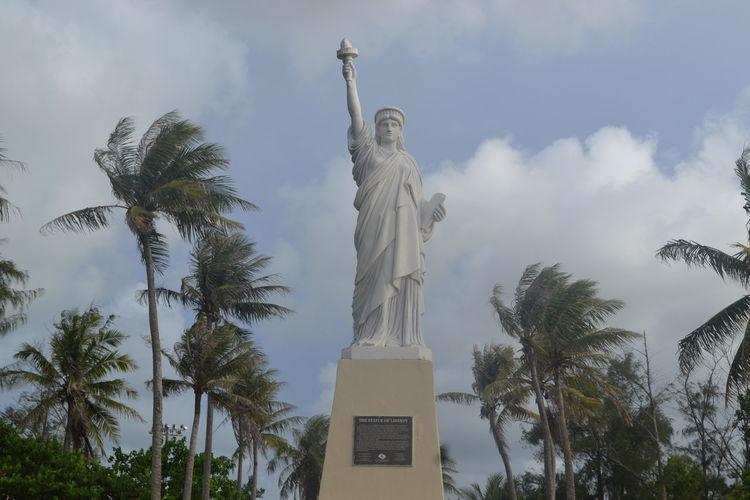 Statue of Liberty at Paseo, Hagatna, Guam. Agana Guam Hagatna Micronesia Monuments & Statues Monuments Of The World Statueofliberty Statueofliberty🗽😁 Statues United States