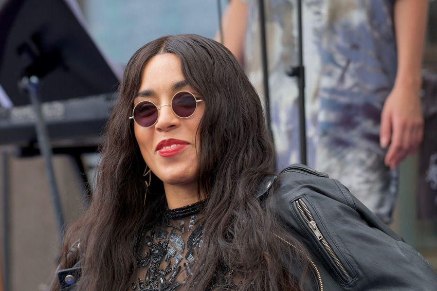 "Artist ""Loreen"" in Stockholm Sweden 2017 Artist Loreen Day Guest At The Polar Music Prize Ceremony In Baku Azerbajdzjan One Person Outdoors Photos Taken June 15, 2017 Real Name Lorine Zineb Nora Talhaoui Real People Swedish Swedish Singer And Producer Winner Of Eurovision Song Contest 2012"
