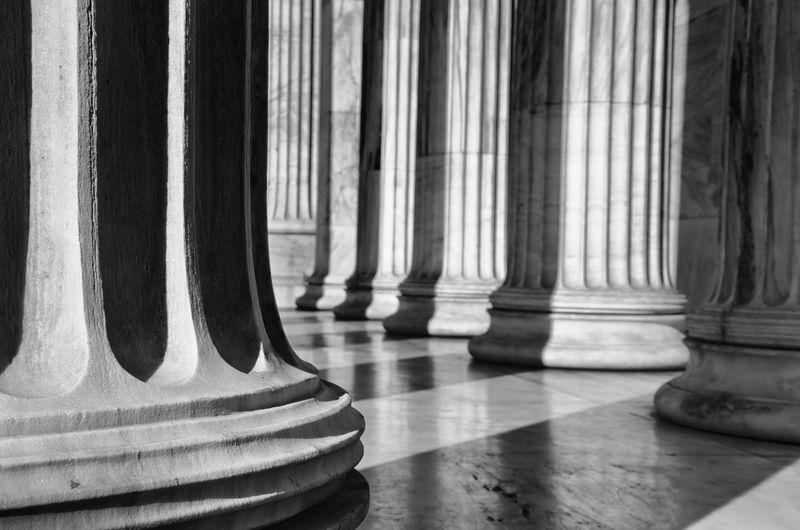 Pillars Ancient Architecture Light Civilization History Pillars Shadow Traditional