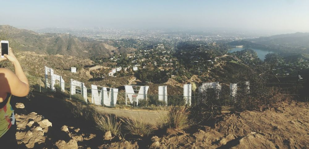 Hiked all the way up to the Hollywood sign ? Perfect Day LA Bound