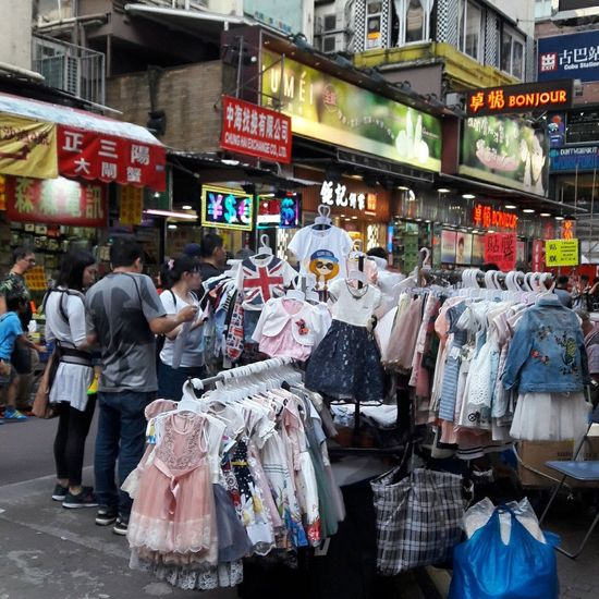 Streetphotography Large Group Of People Street Real People Fashion Hawkers Causewaybay