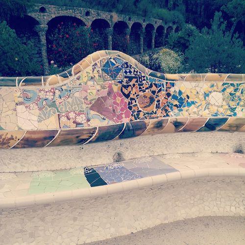 Gaudi #barcelona Seduta