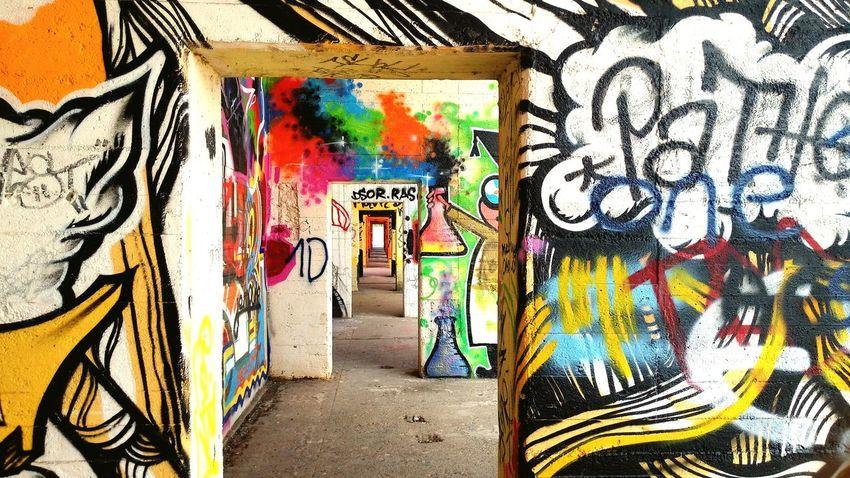 Grafitti Art Ruhrgebiet Wall Urban Street Art Creativity Abandoned Places