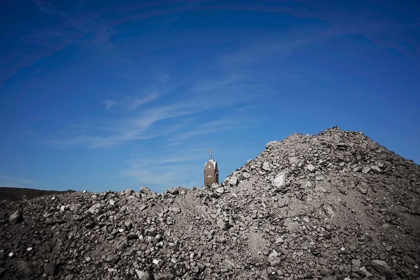 Factory Building Site Sky Built Structure Architecture Building Exterior Building Tower Nature Low Angle View Day No People Rock Sunlight