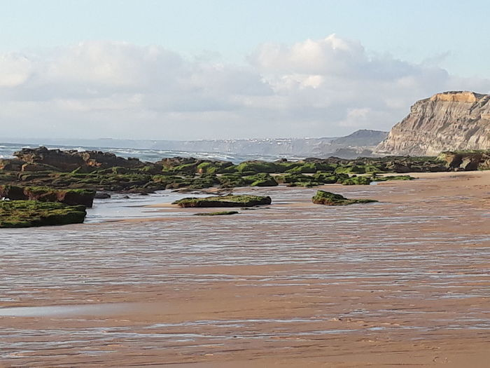 Sea Beach Low Tide Point Of View Rock - Object Health Spa Landscape Coastline Ocean Calm