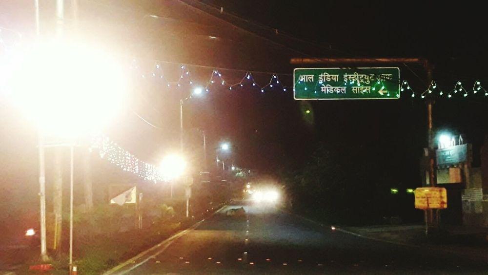 Aiims Bhopal Nightout Night Life Nightlighting Roadside Attractions City Life