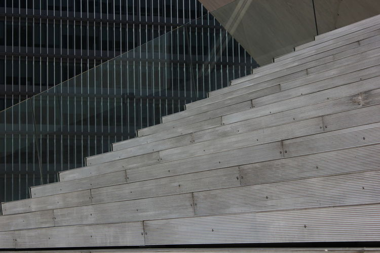 Casa da música Architecture Built Structure Close-up Day Indoors  No People Pattern Railing Staircase Stairs Steps Steps And Staircases The Way Forward