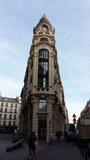 Architecture Sky Himmel CielBleu Blue Sky City Immeubles Haussmaniens Immeuble Parisien Hausmann Architektur Paris