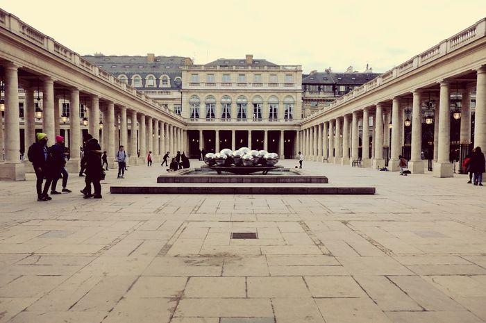 Building Exterior Architecture Day Travel Destinations Outdoors City Paris Paris, France  Palais Royal