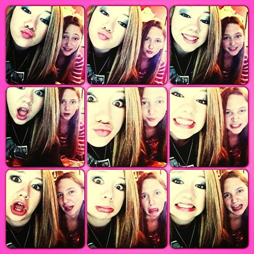 Being Weird With My Sister