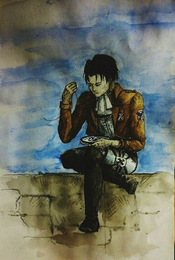 Art Drawing My Drawing Shingeki No Kyojin Levi