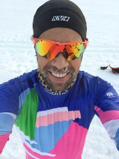 Christmas Intervals Cross Country Skiing Winter Snow Sweden Falun Falun 2015 Dalarna