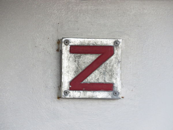 Red Close-up Architecture Full Frame Concrete Outdoors Day No People Geometric Shape Z Sign Weathered Run-down Monochrome Photography Deterioration Detail Selective Focus EyeEm Best Shots Check This Out Metal Metallic Metal Sign Metal Surface Simple Photography Letter Z
