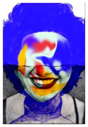 Free Yourself From Yourself OnlyHalf Photographic Approximation Facial Experiments The Age Of Aquarius BYOPaper!