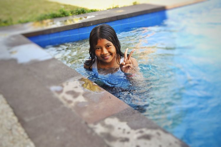 Girl Power Original Experiences Fine Art Photography June 2016 Feel The Journey Bali Swimming Smile