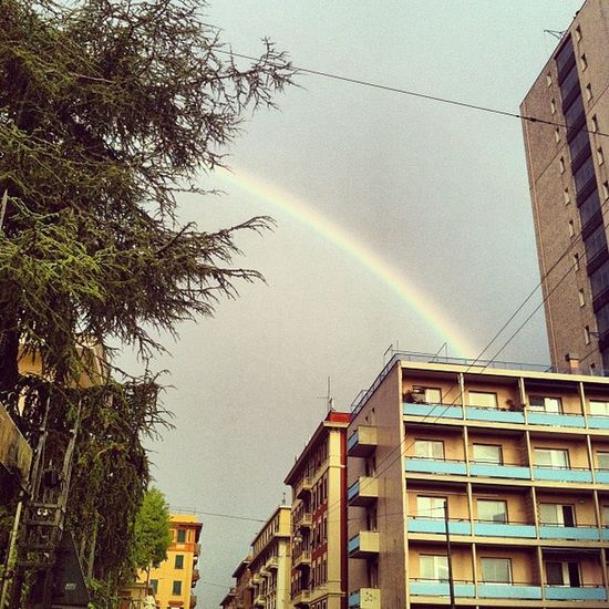 Rainbow Igersgenova Genova Zena Iphonephoto instagram photo photography rainbow