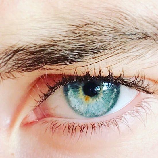 Blue eye Human Eye One Person Iris - Eye People Eyeblue First Eyeem Photo