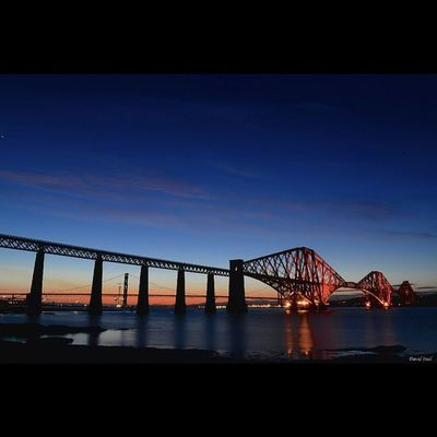 "South Queensferry and Forth Rail Bridge. ISO 100 f16, 30""sec Sky_sultans Insta_sky_reflection Insta_Scotland Ig_landscapes Ig_shutterbugs Loves_Scotland BonnieScotland Igbest_shotz Insta_Scotland Igerscots Landscape_captures Landscapes Ic_water Global_hotshotz ForthRailBridge Nikond7000 Nikonphoto"