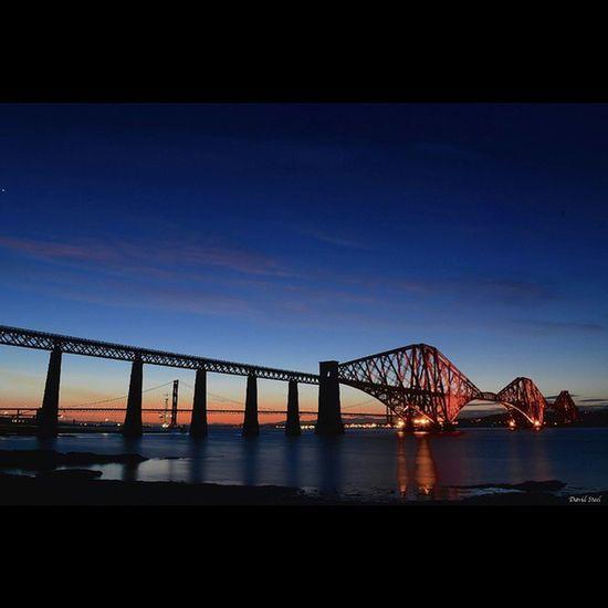 "South Queensferry and Forth Rail Bridge. ISO 100 f16, 30""sec Sky_sultans Insta_sky_reflection Insta_Scotland Ig_landscapes Ig_shutterbugs Loves_Scotland BonnieScotland Igbest_shotz Insta_Scotland Igerscots Landscape_captures Landscapes Ic_water Global_hotshotz ForthRailBridge Nikond7000 Nikonphoto"