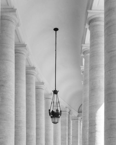 Vatican columns Quality Beauty Nice Europe Chruch Architectural Detail VSCO Magazine Columns Column Design Backgrounds Black Texture Basilica Architectural Column Architecture Catholic Hisroric Italy Rome Museum Vatican Museum Roman City Travel Rome Roma Religion Peter Papal Palace Ornate Italy Historic Bw Europe Dome Church Catholic Cathedral Basilica Art Architecture Ancient Black White Ceiling Roof Texture Background Wallpaper Design Magazine Indesign Fashion  Architecture Hanging Lighting Equipment Built Structure Low Angle View Architectural Column Day