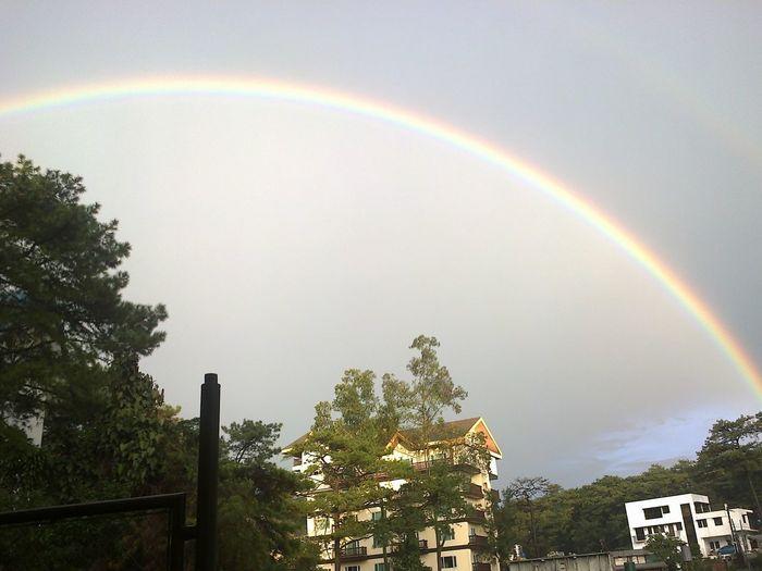 The Rainbow over the Ridgewood, Baguio City