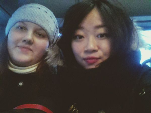 With My Friend Go To Home 😊