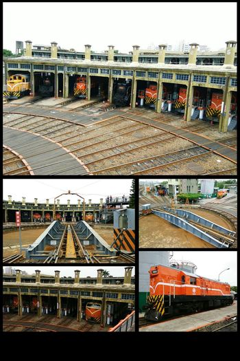 我喜歡坐火車~ FanShapedRailwayGarage Changhua 扇形車庫 彰化