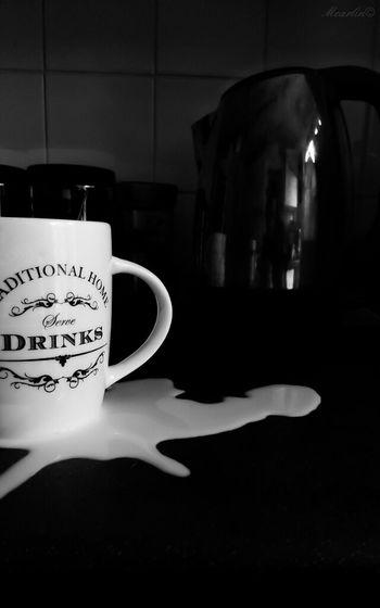 spilt milk Spilt Milk Cup Coffee Time Butter Creamy Coffee Black And White