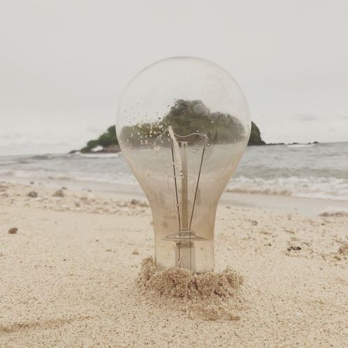 Stay here. Lightbulb Sand Sandandsea Earthhour Island Island Adventure Rayong Rayong, Thailand Thailand Savetheearth