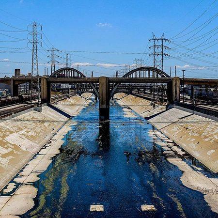 La Canon Sl1 Photography Canonphoto Canonphotography 100D Digutal River Color Blue Urban Water Bridge Life Sun California STM DSLR