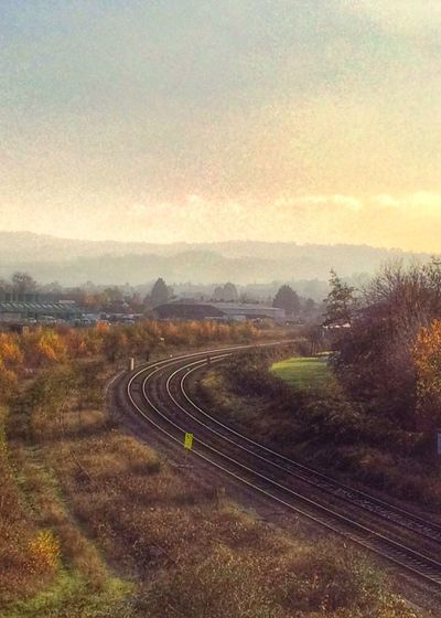 Down the line... Landscape Railway Multiple Layers